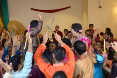 bride and groom,pre- wedding celebrations,garba,dj and entertainment