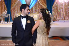 indian wedding reception,floral and decor,indian bride,indian groom