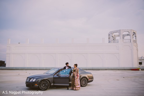 indian bride,indian fusion wedding