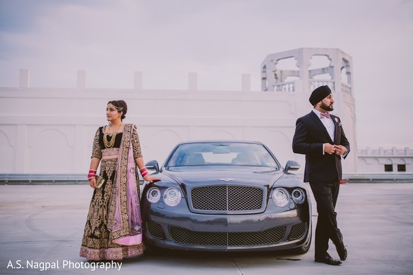 indian bride and groom,indian bride,indian fusion wedding fashion