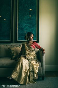 getting ready,indian bride,indian bridal fashion
