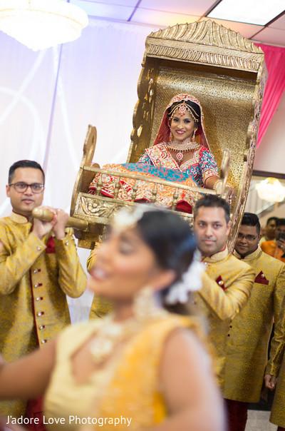 Maharani making her entrance