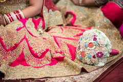 bride bangles,indian bridal bouquet,indian bride lengha