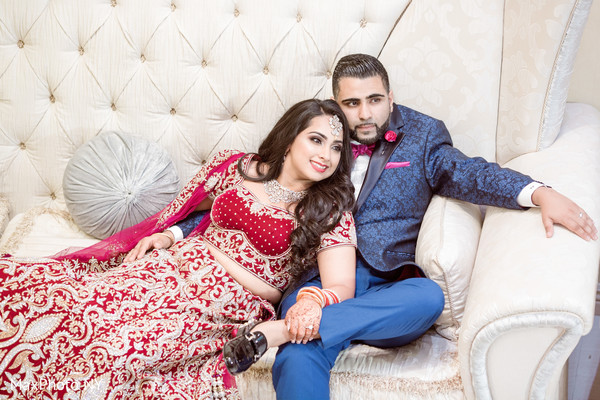Indian couple photoshoot before wedding reception in Queens, NY Wedding by MaxPhoto NY