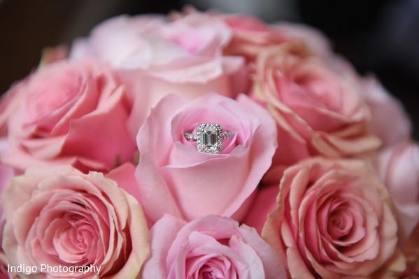 Enchanting engagement ring photography.