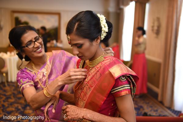 Maharani bridal look.