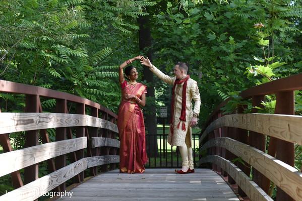 Cutest Indian couple portrait.