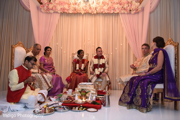 Amazing Indian wedding ceremony styling and design.