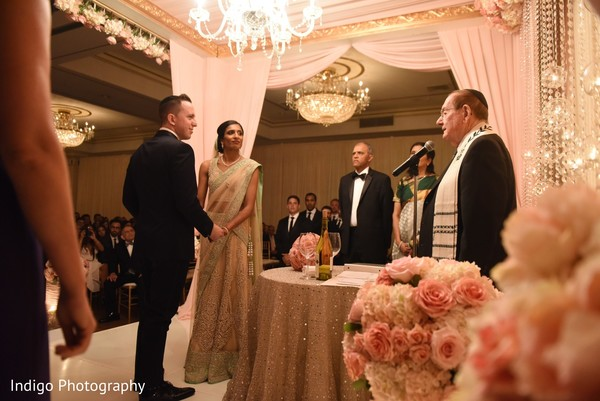 Indian-Jewish fusion wedding.