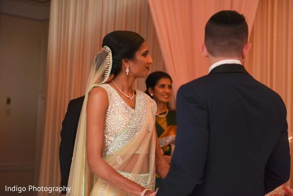 Traditional Jewish wedding ceremony.