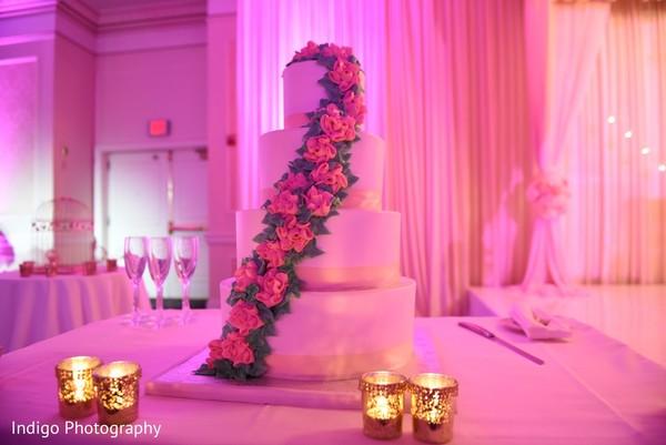 Perfect wedding cake.