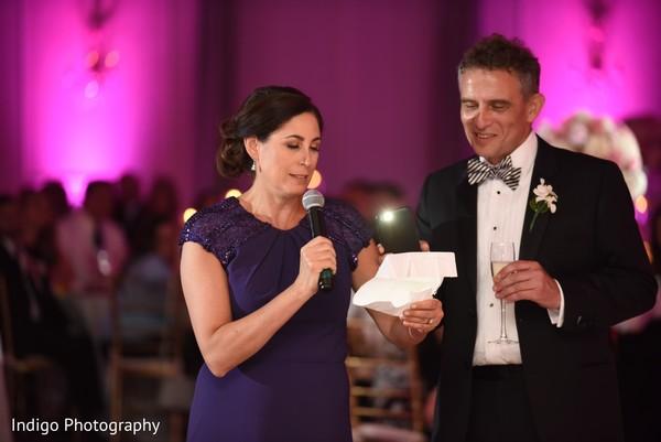 Sweet wedding toast