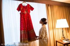 indian bridal fashion,indian bride getting ready,lengha