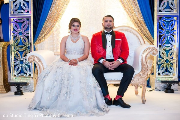 indian wedding reception,indian groom,indian bride,reception fashion