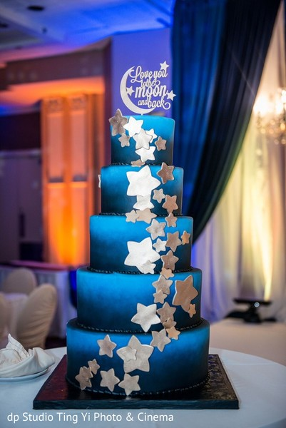 indian wedding reception,cake topper,wedding cake
