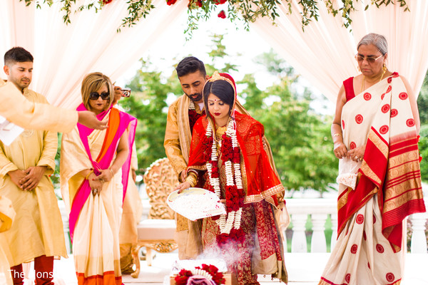 indian wedding ceremony floral and decor,mandap,indian bride and groom