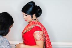 indian bride portrait,indian bride ceremony fashion,indian bridal makeup