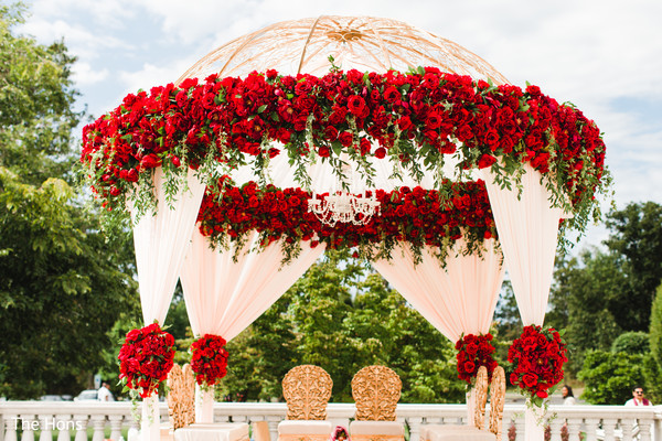 indian wedding ceremony floral and decor,mandap,indian wedding planning and design
