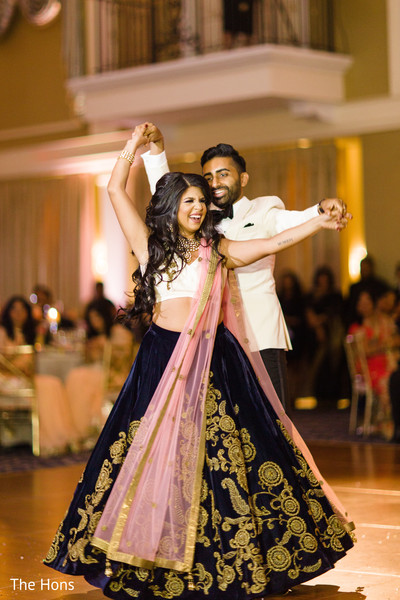 indian bride reception fashion,indian groom suit,indian bride and groom