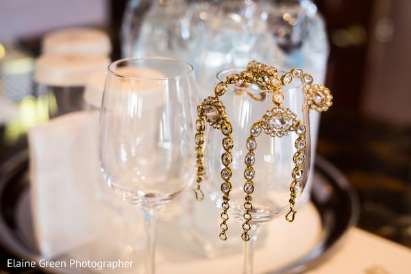 Indian bride accessories.