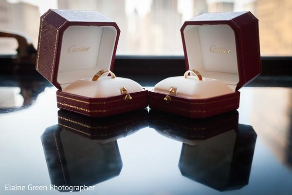 Indian wedding rings.