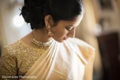 getting ready,indian bridal fashion