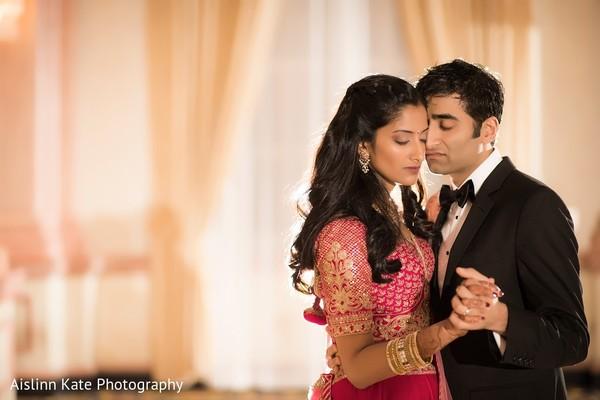 Maharani and Raja wedding reception photo session.
