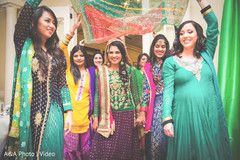 indian pre-wedding celebrations,indian bridesmaids,indian bridesmaids' fashion