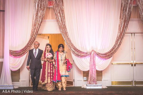 indian bride reception fashion,indian wedding photography,bride entrance
