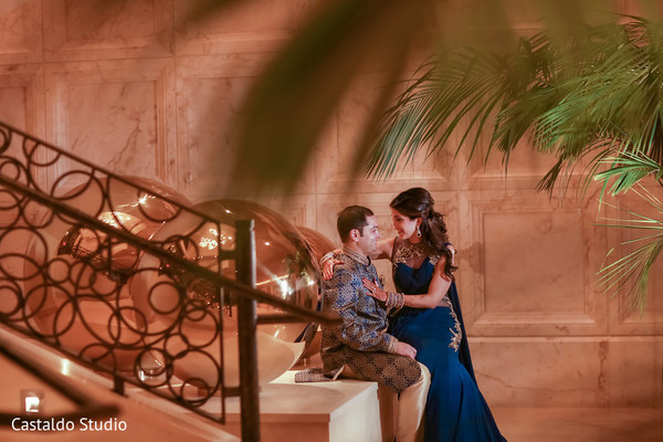 indian bride and groom portrait,pre-wedding ceremony photography,bridal jewelry