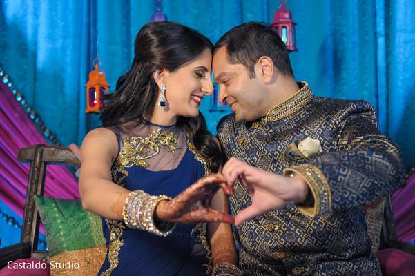 mehndi art,indian bride and groom portrait,pre-wedding celebrations