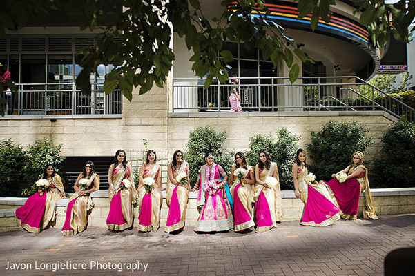 indian bridesmaids,indian bride,indian wedding photography