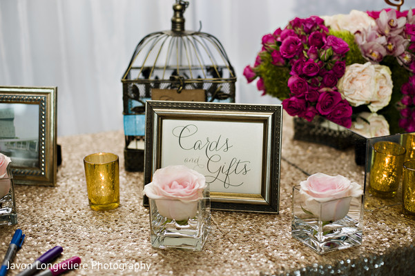 floral and decor,indian wedding reception,guest book