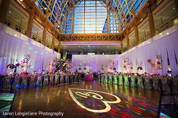 floral and decor,indian wedding reception,lightning