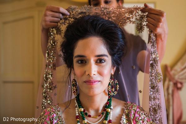 indian bride hair and makeup,indian bride ceremony fashion,indian bride portrait