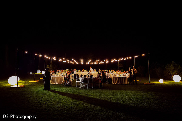 lightning,outdoor photography,indian wedding reception