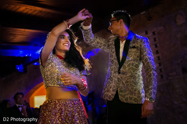 lightning,dj & entertainment,indian bride and groom portrait