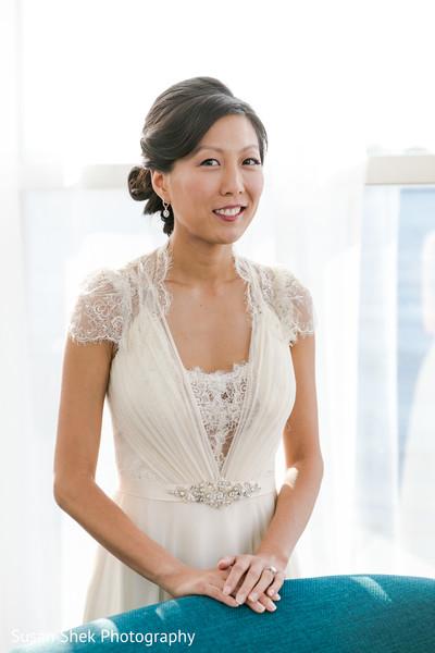 Dazzling bride.