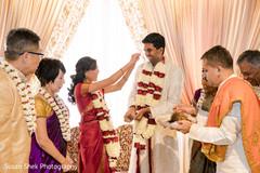 indian fusion wedding,indian bride,indian wedding ceremony
