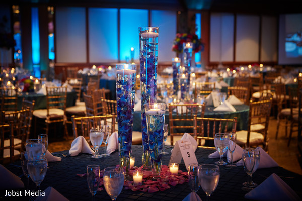table centerpieces,indian wedding photography,indian wedding reception