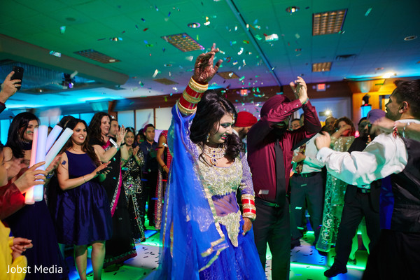 lightning,dj and entertainment,indian bride and groom