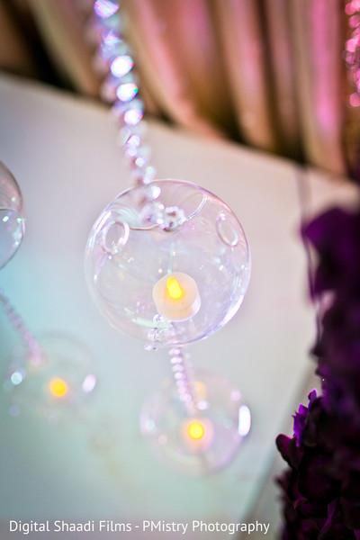 Enchanted hanging chandelier backdrop