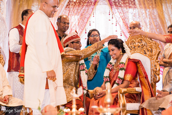 Sindhoor wedding ritual photography in Pittsburgh, PA Indian Wedding by Jorge Santiago Photography