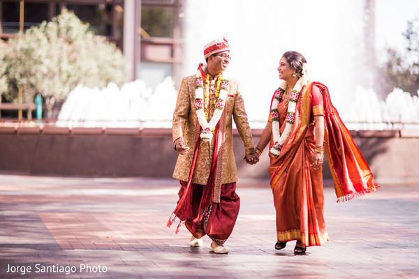 Lovely indian couple photoshoot after wedding ceremony in Pittsburgh, PA Indian Wedding by Jorge Santiago Photography