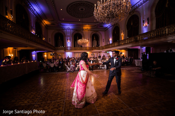 Amazing first dance in Pittsburgh, PA Indian Wedding by Jorge Santiago Photography