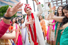 indian wedding party,indian groom
