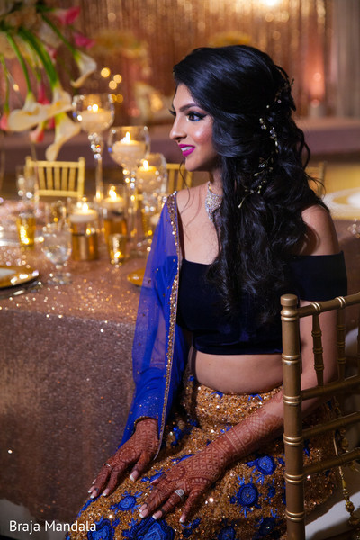 indian wedding reception,reception fashion,indian bride