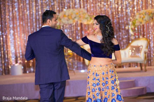 indian wedding reception,reception fashion,indian bride,indian groom