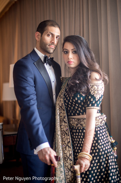 indian bride and groom,indian bride and groom portrait,indian groom suit,indian bride fashion