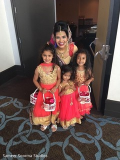 indian bride,indian bride fashion,flower girls